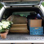 IPC – La voiture se charge de tout le matériel pour la retraite