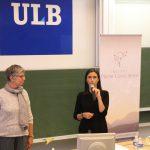 Présentation pour la conférence de Saki Santorelli à Erasme par Fabienne Bauwens et Gwénola Herbette