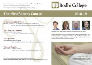 The Mindfulness Course flier